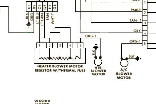 [DIAGRAM] 79 Cj5 Heater Diagram