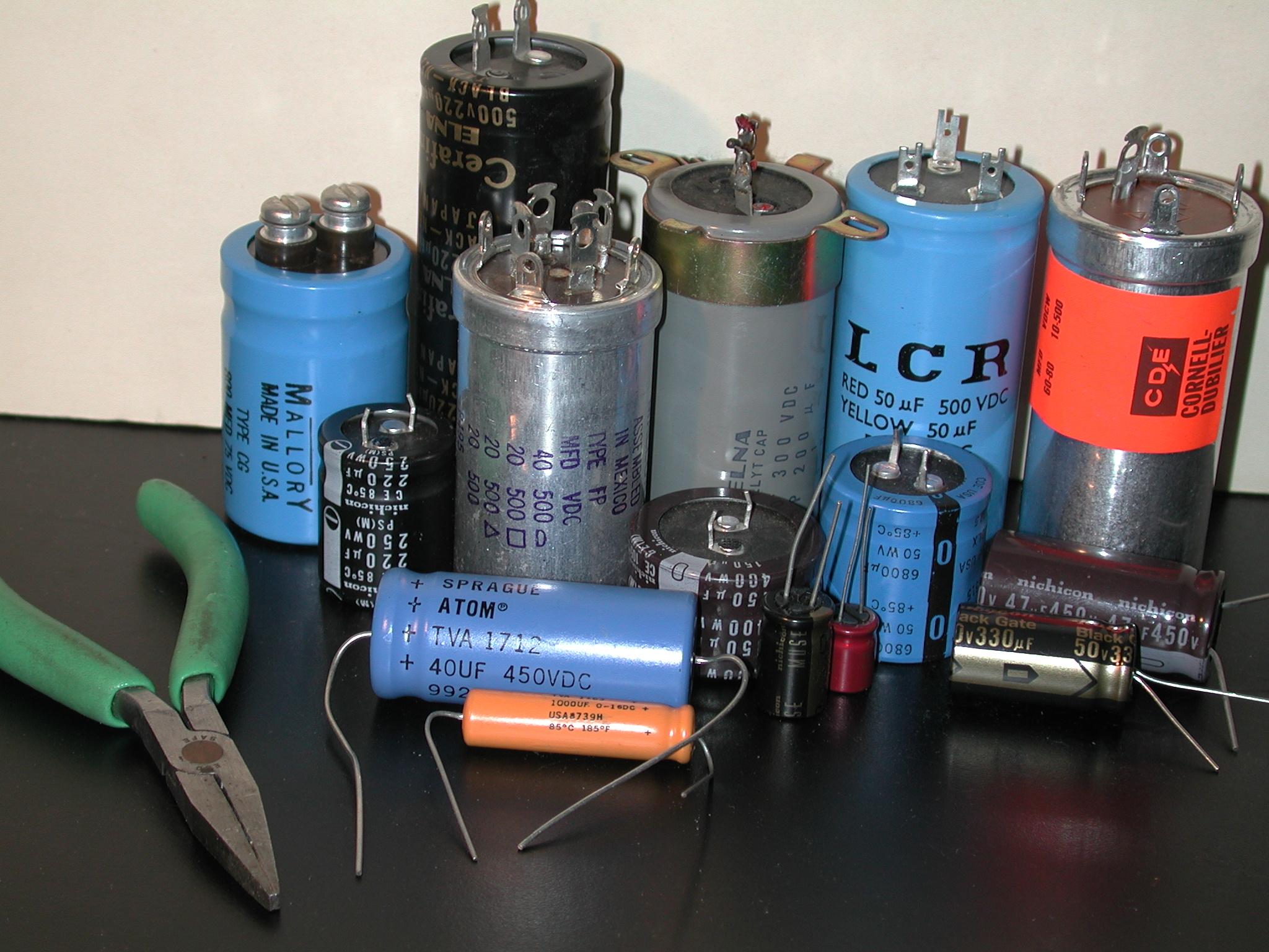 Car Audio Capacitor Wiring Diagram Rap On Replacing Electrolytic Capacitors