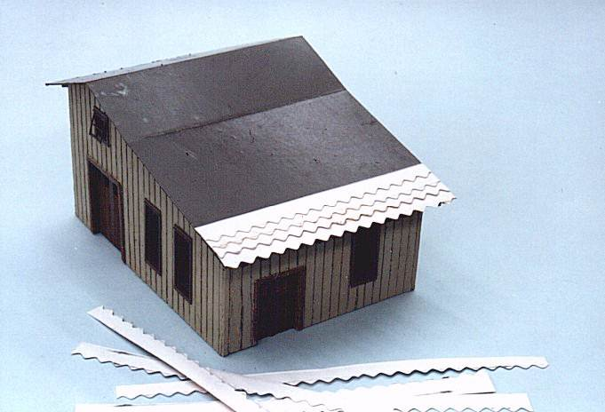 Scratch Build A Small Structure National Model Railroad