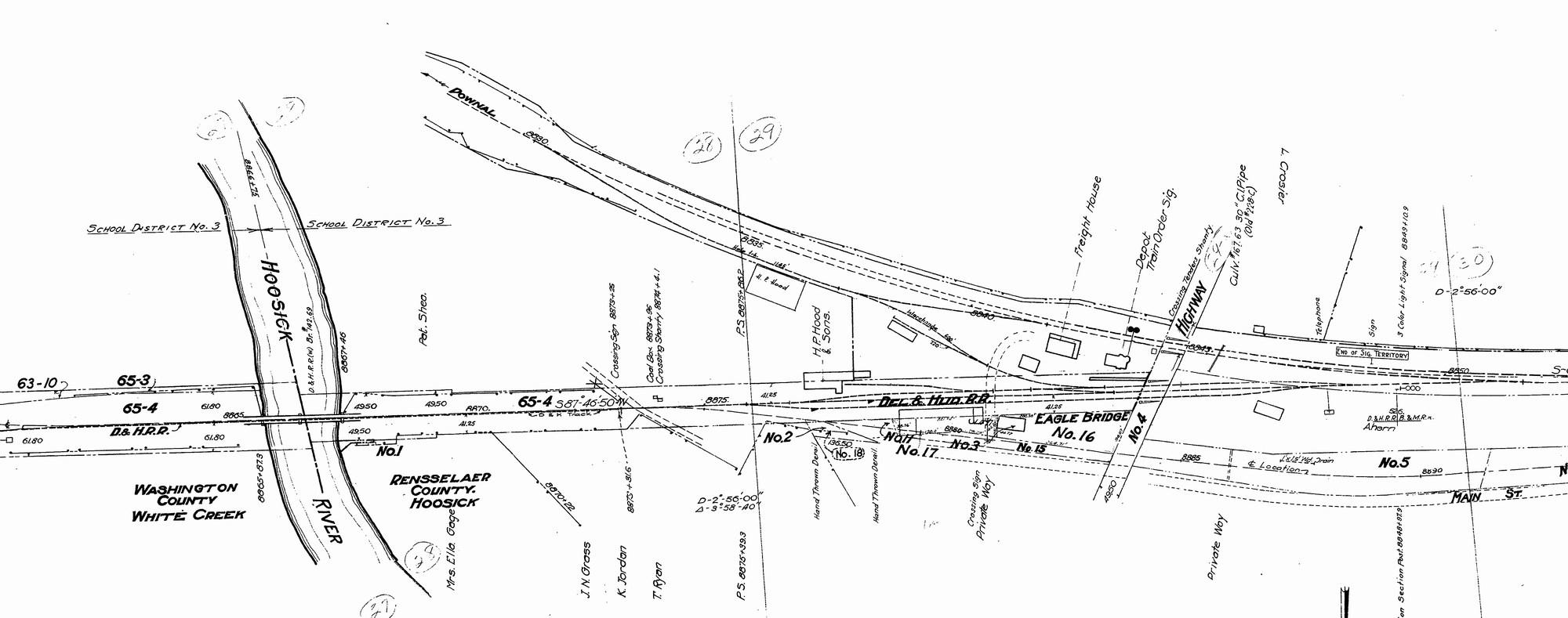 Boston Amp Maine Railroad N Plan Sample