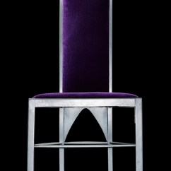 Charles Rennie Mackintosh Willow Chair Loveseat And Set Designed By For The Room De Luxe Tearooms Glasgow 1903 Silver Painted Wood Velvet Upholstery