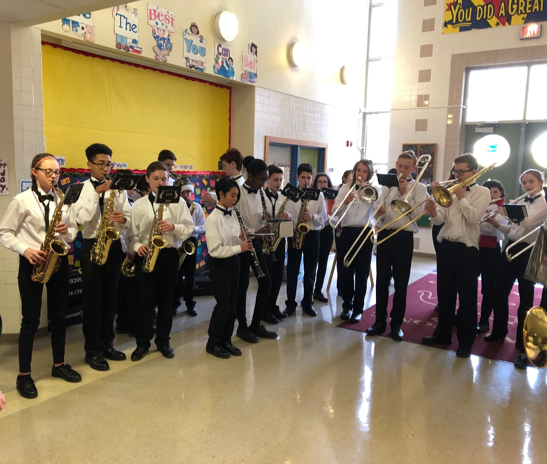 Ca 1 Nitschmann Middle School Instrumental Music