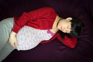 Left side position in pregnancy