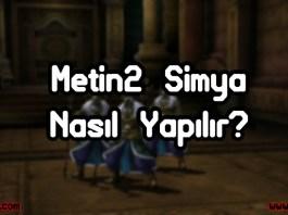 Metin2 Simya