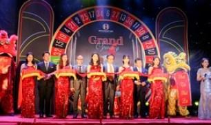 ベガスベガスはハノイにベトナム2号店のカジノをオープンした。全国での拡大を目指す=11日