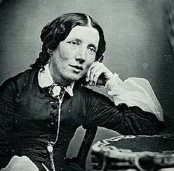 Harriet Beecher Stowe, author of Uncle Tom's Cabin