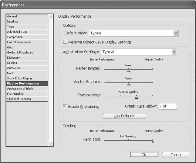 Часть II Основы Adobe InDesign / Adobe InDesign CS3