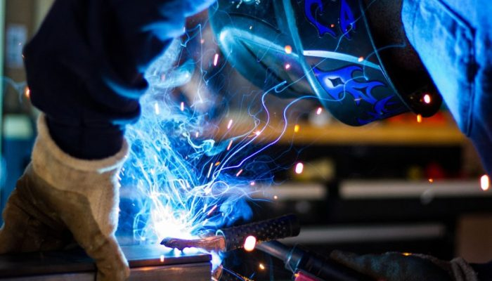 electrical engineer sparks flying