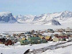 A March 1997 fire consumed the Attagoyuk School in Pangnirtung. Wikipedia photo