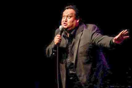Howie Miller, one of Canada's few Indigenous professional comedians, will perform at Iqaluit's comedy festival this October. Photo courtesy of Crackup Comedy.
