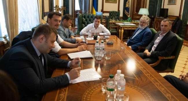 Політолог: президент уже забув, як Коломойський заявив в одному з інтерв'ю, що «всі олігархи в душі були за Зеленського»