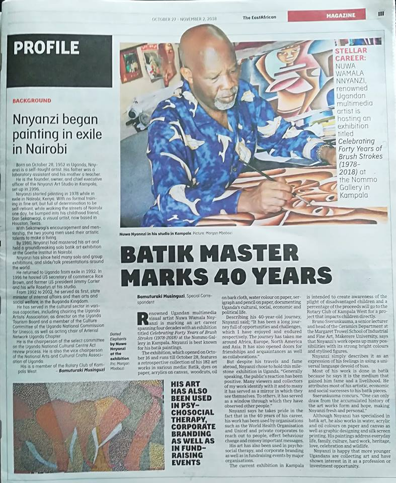 forty years of brush strokes