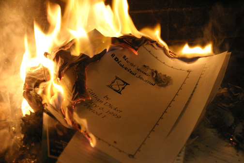 example of research paper on to build a fire
