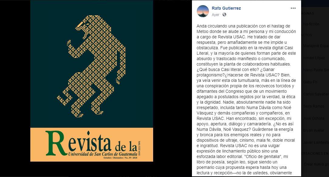Post Rafael Gutierrez