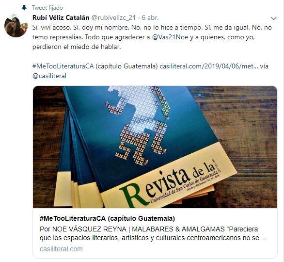 tuit Rubí Véliz