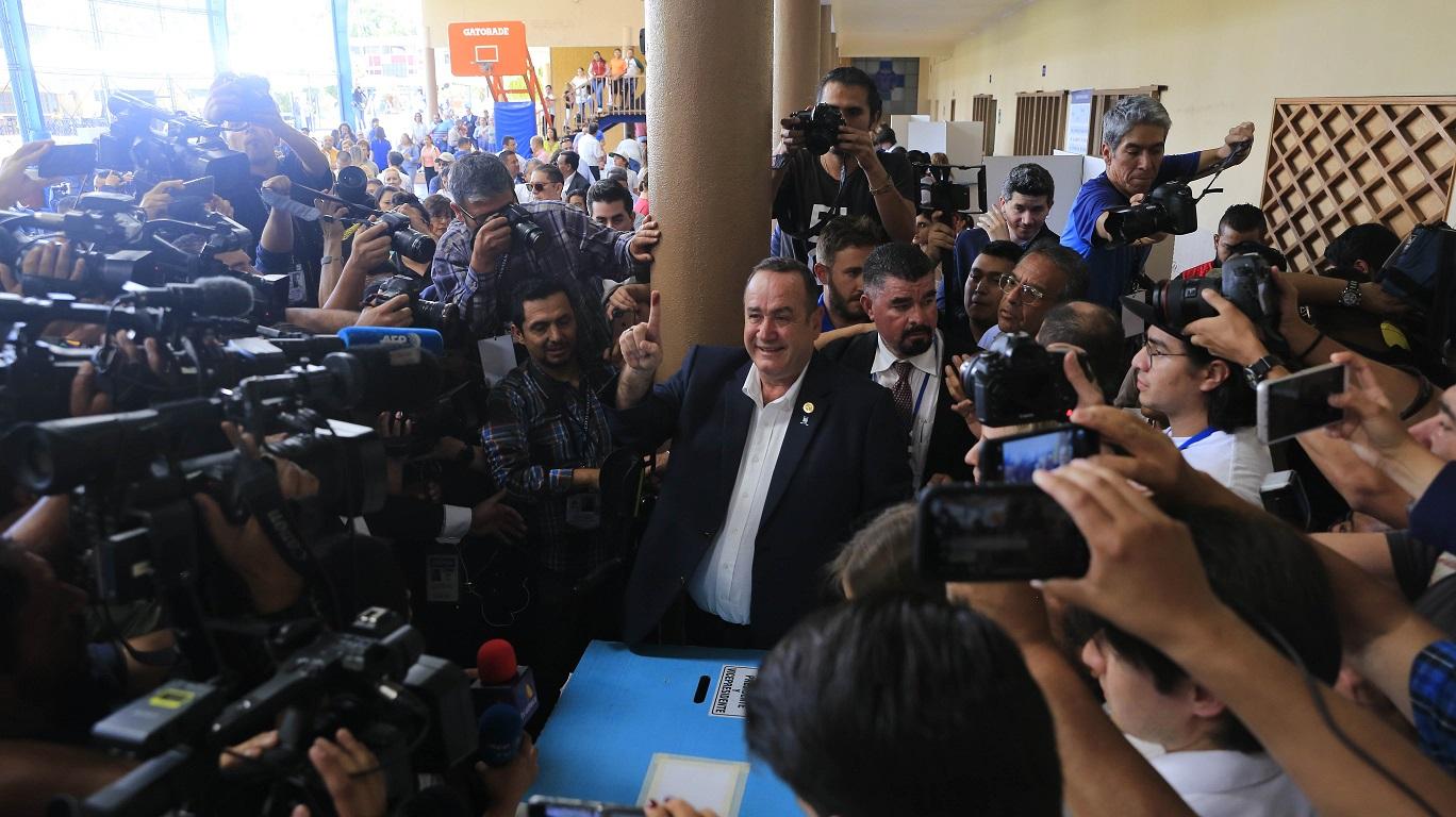 """Giammattei el """"alcaide"""" electo para Guatemala"""