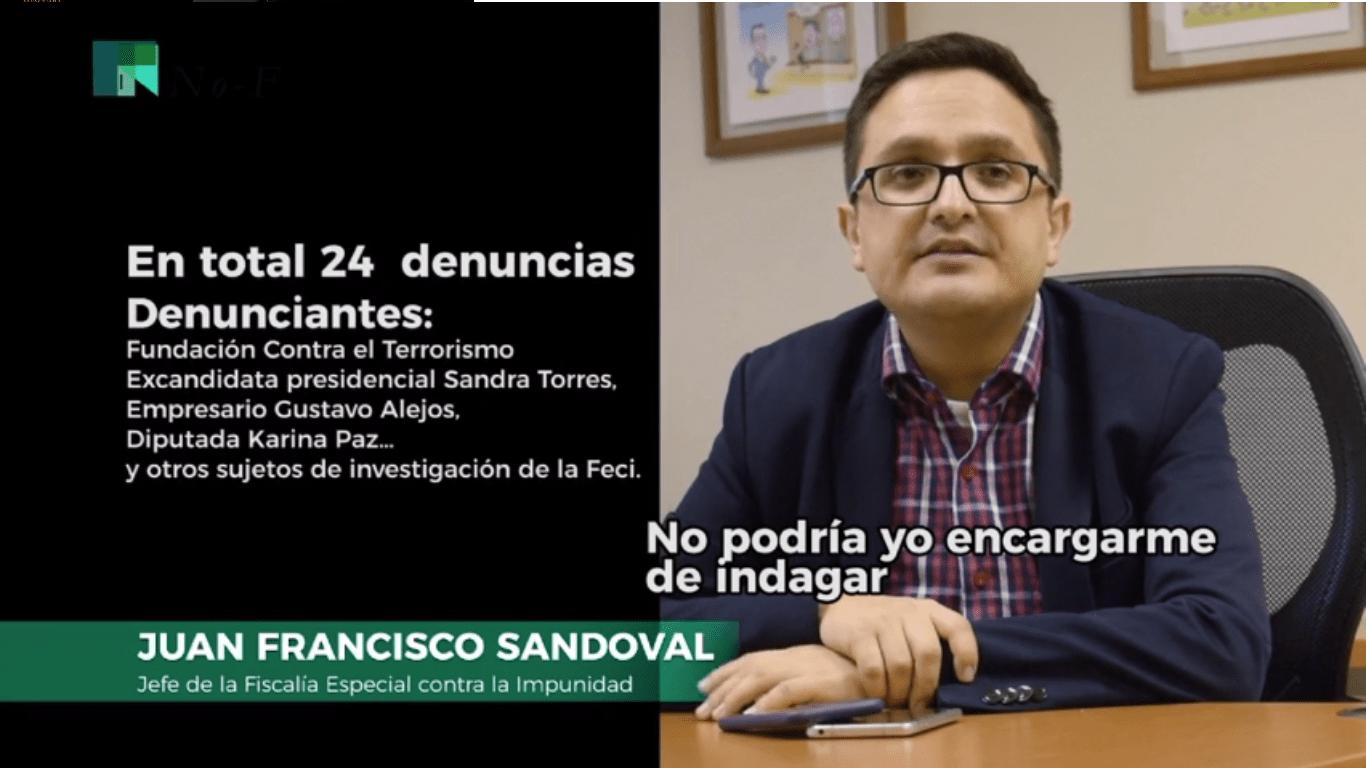Juan Francisco Sandoval, el sucesor de la CICIG