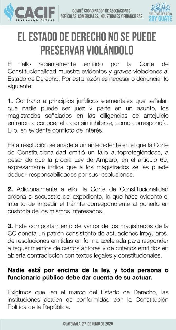 cacif CC