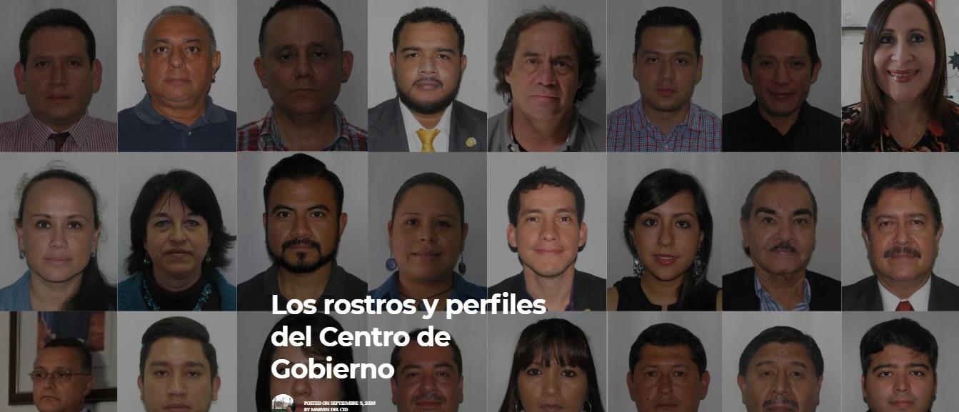 Los rostros y perfiles del centro de gobierno vox populi