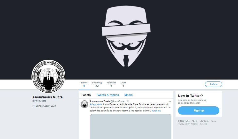 anonymus cuenta anulada