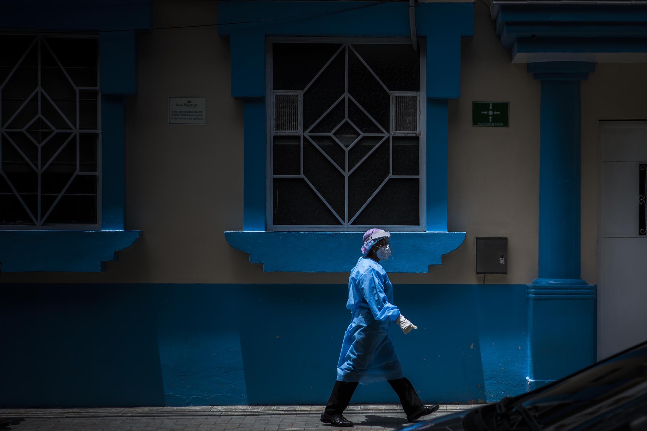Q870 por arriesgar la vida durante la pandemia