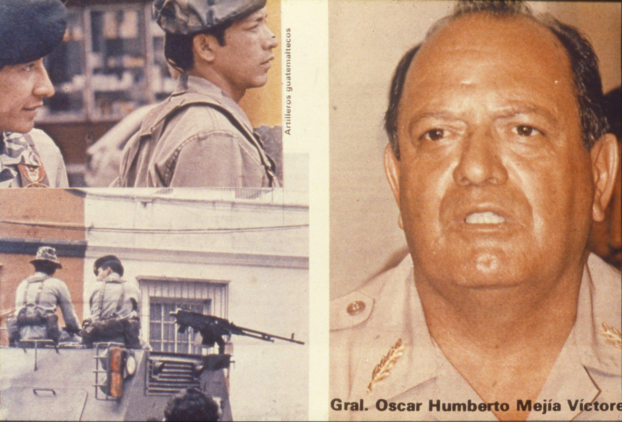 Oscar Mejía Víctores y los altos mandos, morir en la impunidad