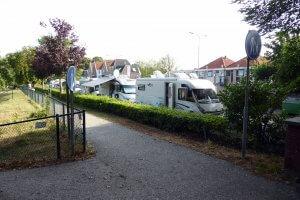 Medemblik, Camperplaats Pekelharinghaven