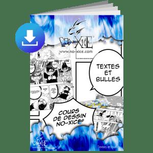 cours dessin bulles textes