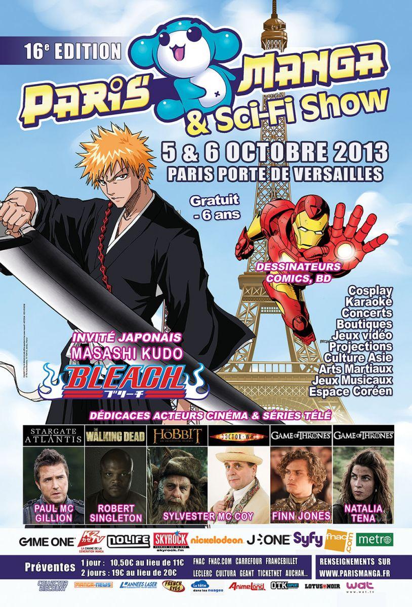 Convention Paris Manga 16 | PM octobre 2013 | Fanzine No-Xice© Nantes
