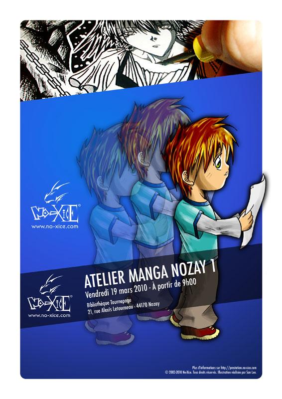 Apprendre à dessiner manga à Nozay par le fanzine No-Xice©