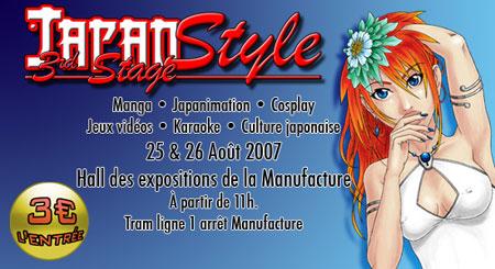 Convention manga cosplay Japan Style 3 No-Xice© fanzine Nantais