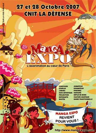 Convention Manga Expo 2 CNIT La Défense fanzine No-Xice©