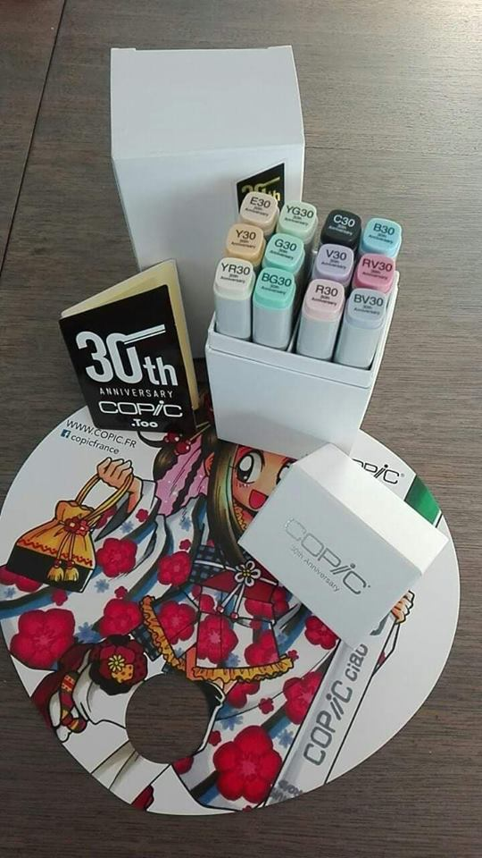ayleen 12 marqueurs concours copic