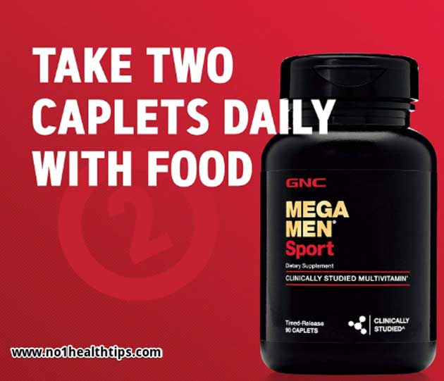 MEGA MEN Sport best multivitamin for men