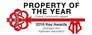 Key logo - property of the year 2016