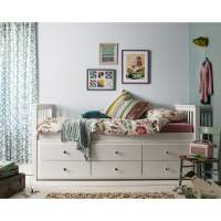 Bed With Drawers - Single Bed With Storage Underneath ...