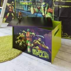 Storage Solutions For Toys In Living Room Paint Ideas With Light Wood Floors Teenage Mutant Ninja Turtles Toy Box | Noa & Nani