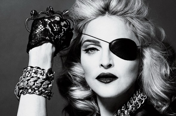madonna eye patch