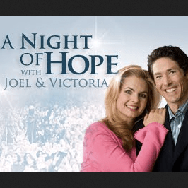a night of hope with joel osteen victoria osteen