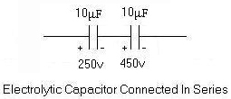 series and parallel capacitor