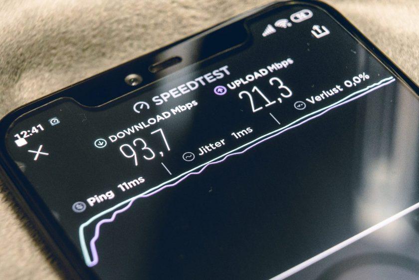 Internet Speed for livestream