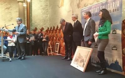 """Nos conceden el """"Premi ciutat solidària"""" en reconocimiento a nuestra labor"""