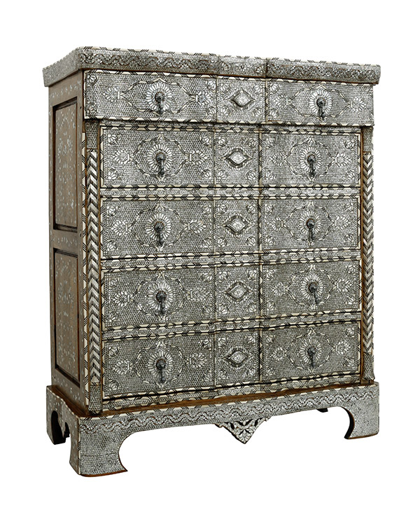 19th Century Inlay Dressers