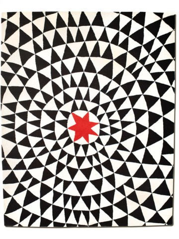 Wa in Red Star, 10 ft. x 14 ft.