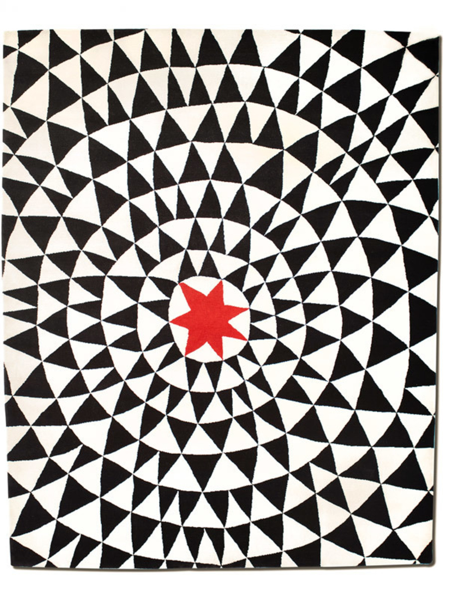 Wa in Red Star, 8 ft. x 10 ft.