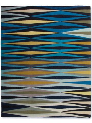Ripple in Blue, 9 ft. x 12 ft.