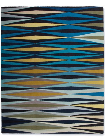 Ripple in Blue, 12 ft. x 16 ft.