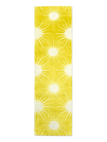 Sunburst in Forsythia, 3 ft. x 10 ft.
