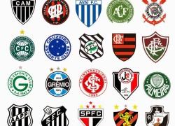 Escudos dos times do Brasileiro 2015_série a