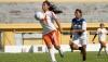 Matando no peito na final de futebol feminino dos Jogos Indígenas de Cuiabá as índias Parkatejê ganharam de 3 X 1 das índias Bacairí